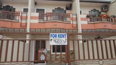 アンへレスのメゾネットタイプのアパート