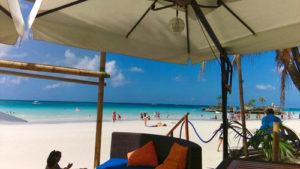 ボラカイ島のホワイトビーチステーション1