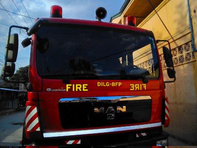 フィリピンのアンへレスの消防車