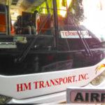 マニラ国際空港からマニラ市内への空港バス