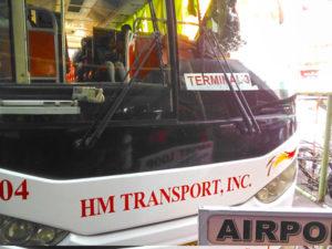 マニラ国際空港のエアポートループバス