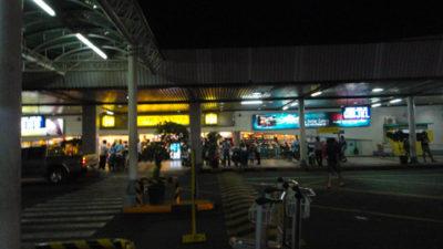マニラ国際空港ターミナル1のホテルタクシーとの待ち合わせ場所