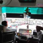 マニラ国際空港からタクシー⇒アンへレス行きのバスを利用