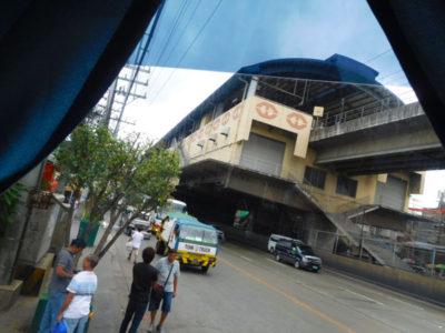 マニラLRT-1のBalintawak駅