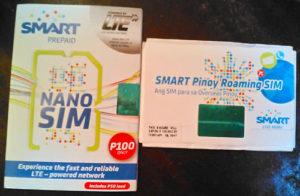 フィリピンのSMARTのSIM