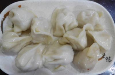 台北のおいしい水餃子