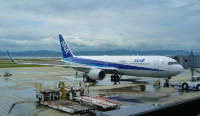 香港国際空港のANA