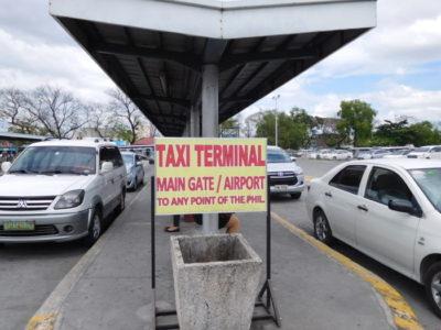 アンヘレスMain Gate Terminalのタクシーターミナル