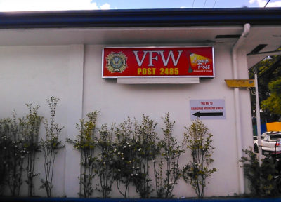 アンへレスのVFW Post Restaurant