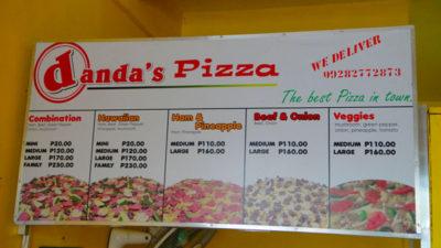 アンへレスのdanda's Pizza