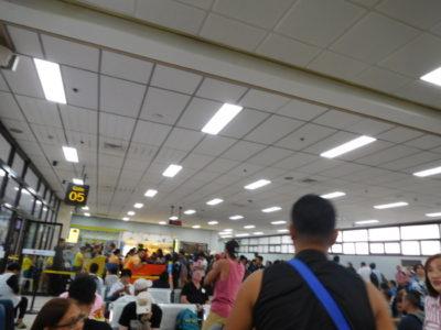 マクタン・セブ国際空港の国内線ターミナル