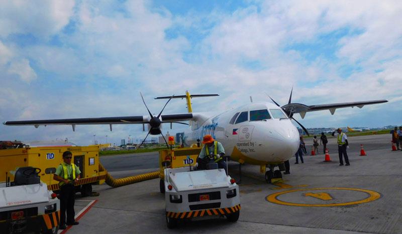 マニラ国際空港のセブパシフィック
