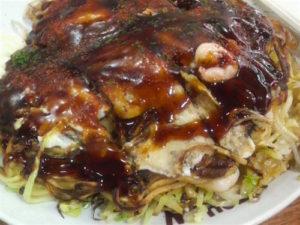 広島のおいしいお好み焼き