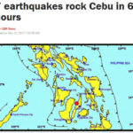 【セブ島】6時間で7回の地震