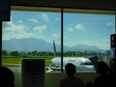 フィリピンのバコロド空港