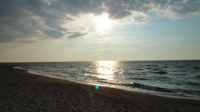 ラウニオンのビーチ