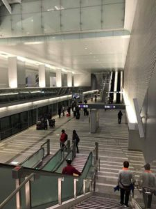 【台北】桃園国際空港のMRT空港線の駅