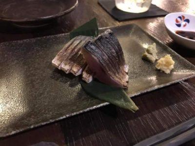 台北のおいしそうな日本料理屋一隅