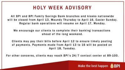 出典:BPI(フィリピンの銀行)