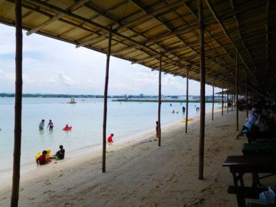 サマール島のパラダイスビーチ