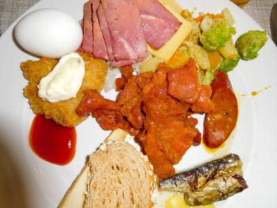 ダバオのザロイヤルマンダヤホテルのおいしい朝食ビュッフェ
