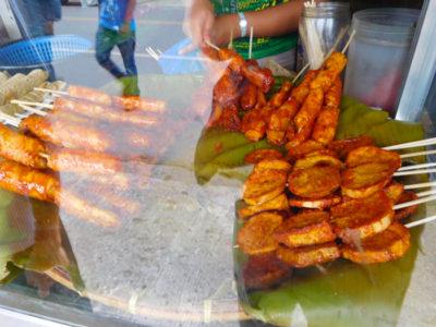 ダバオの素朴でおいしい揚げバナナキュー