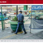 フィリピンの警官が立ち小便で物議?