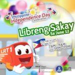 【マニラ】6/12のフィリピンの独立記念日は電車無料乗車