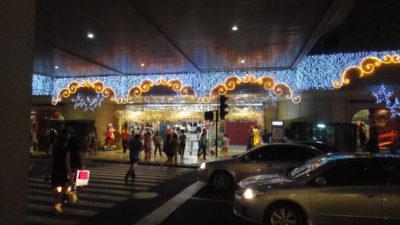 マニラ首都圏マカティのデパートLandmark