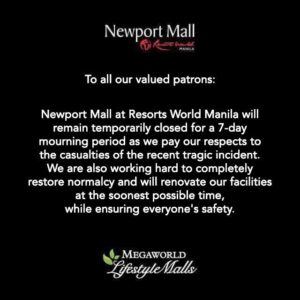 出典:Resorts World Manila