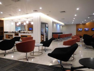 マニラ国際空港のパシフィックラウンジ
