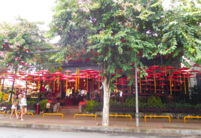 タイのチェンマイのおしゃれなカフェ