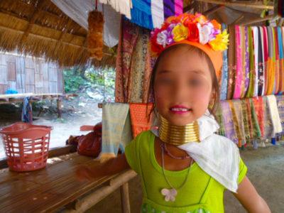 チェンマイの首長族の村