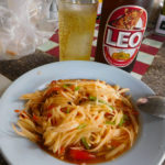 タイ(チェンマイ)のおいしいリオビールと屋台飯