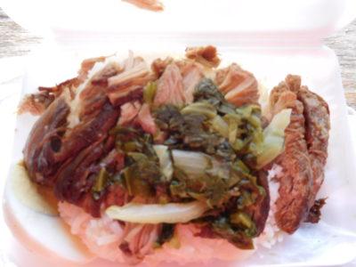 おいしいカオカームー(豚肉飯)