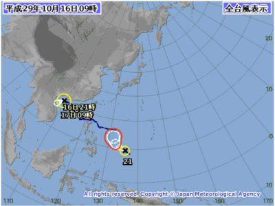 出典:気象庁台風情報