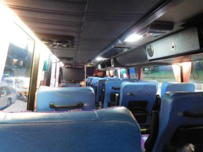 バンコクからチェンマイへの夜行VIPバス