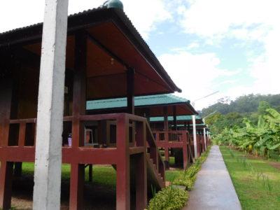 タイ北部の瞑想寺ワットタムウアの個室