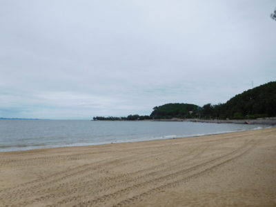 ハイフォン近郊のドーソンのビーチ