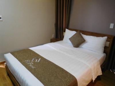 【ハイフォン】空港近くのおすすめF&Fホテルの部屋