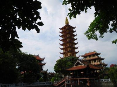 ハイフォンの有名なお寺Pho Chieu Pagoda