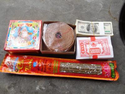 ベトナムのお寺お参りセット
