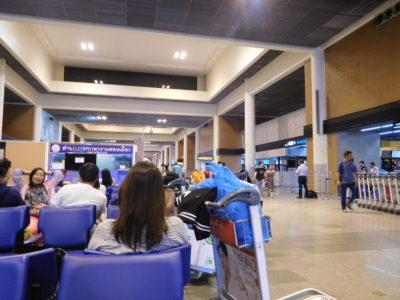 バンコクのドンムアン国際空港