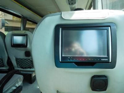 チェンマイからチェンライへのグリーンバスVIPクラス