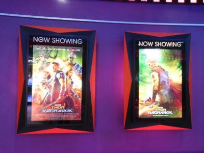 チェンライのBigCの映画館