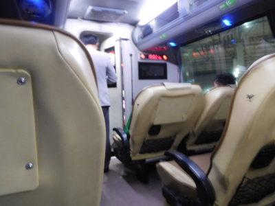 チェンライからコンケン行きのVIPバス