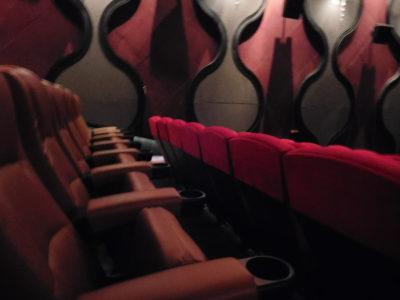 チェンライのセントラルプラザの映画館