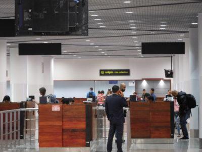 プノンペン国際空港のアライバルビザと入国審査