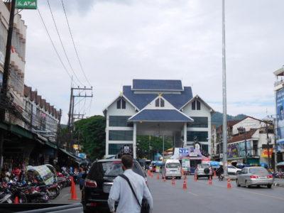 メーサイのミャンマーとの国境