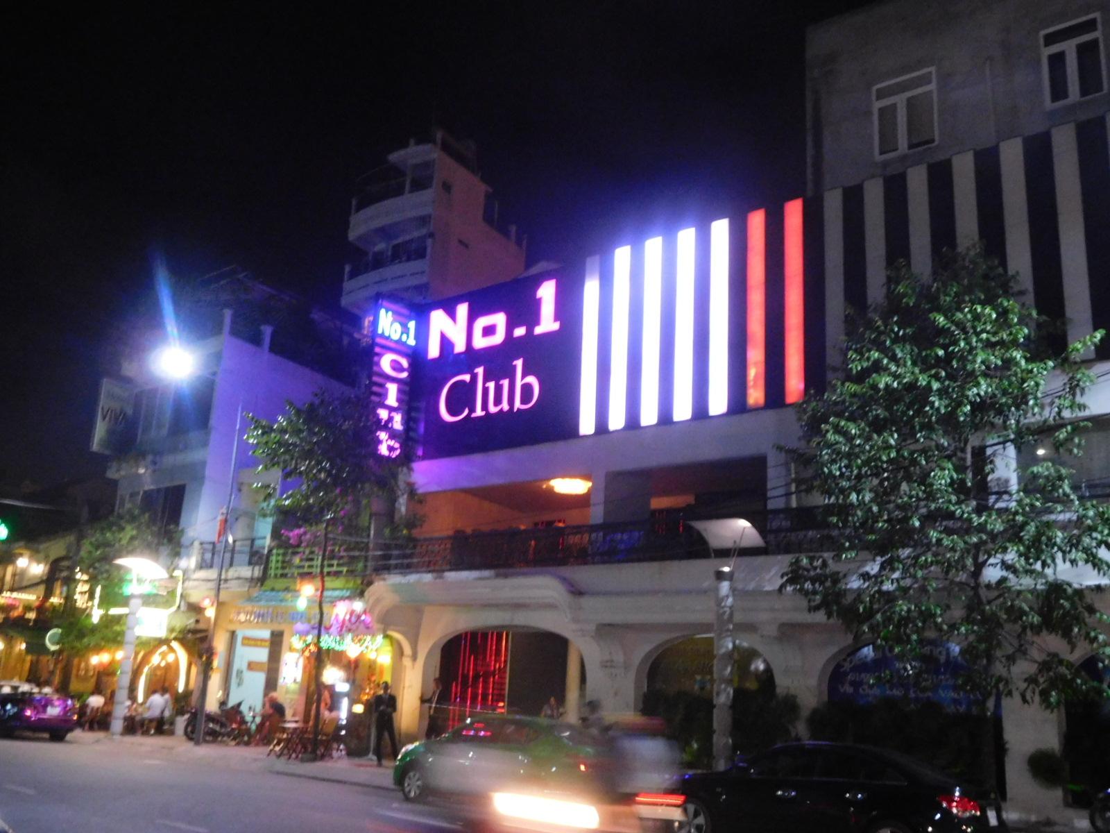 ベトナムのカントーのNo.1 Club
